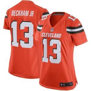 Women's Cleveland Browns Odell Beckham Jr Jersey